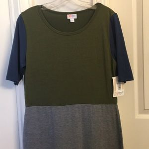 Lularoe Julia dress - L